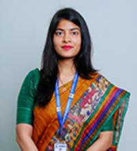 Preeti Bhardwaj (Gold Medalist)